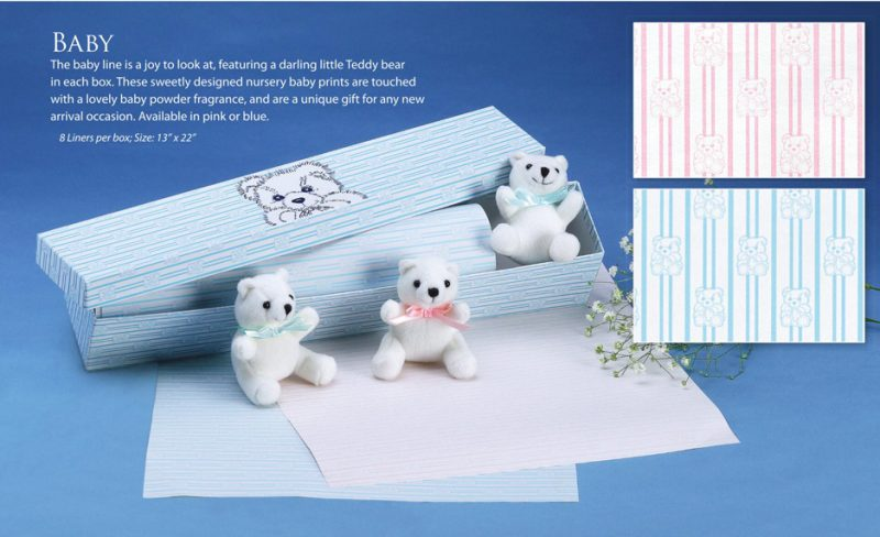 Just For Baby Boy Scented Drawer Liners