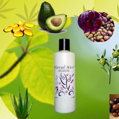 Floral kiss body lotion