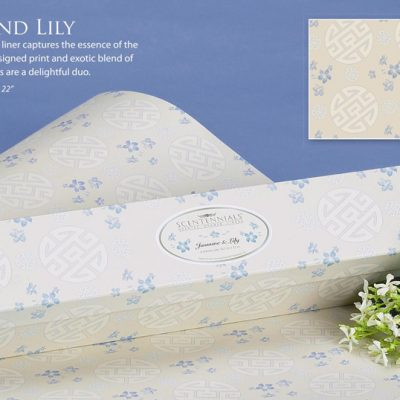 Jasmine Lily Scented Drawer Liners