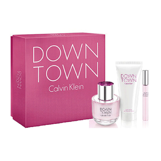 calvin klein downtown gift set for women online shop in canada perfumes gifts natural body care. Black Bedroom Furniture Sets. Home Design Ideas